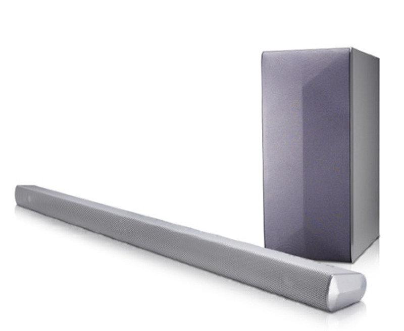Image of 2.1 Channel Soundbar 320w Wireless Subwoofer Silver