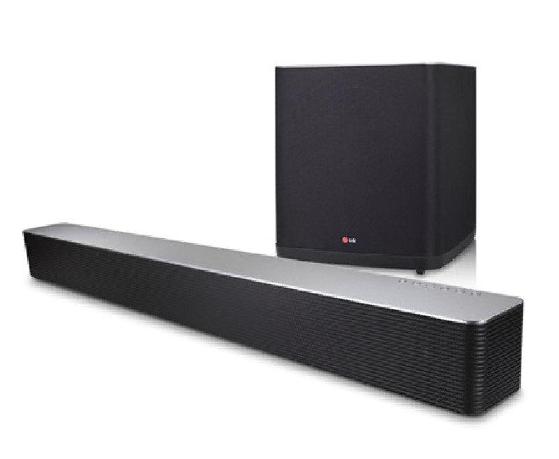 LG 7.1 Channel Soundbar 50w Wireless Subwoofer Black