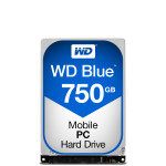 "WD Blue 750GB 2.5"" SATA Mobile Hard Drive"