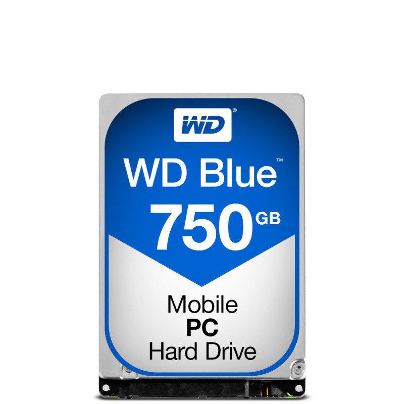 "WD Blue 750GB 2.5"" SATA Mobile Hard Drive"