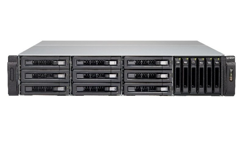 QNAP TVS-EC1580MU-SAS-RP-16G 15 Bay 2U Rack NAS