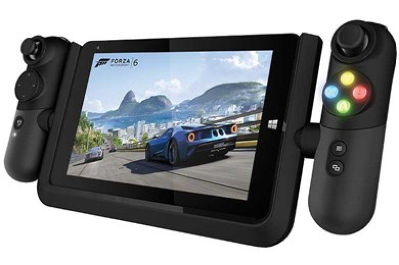 "Image of Linx Vision Gaming Tablet Black - Quad core Cherry Trail z8300 2GHz - 2GB RAM - 32GB Storage - 8"" IPS Display / 1200 X 800 - Bluetooth + 2 cameras - Windows 10 Home"