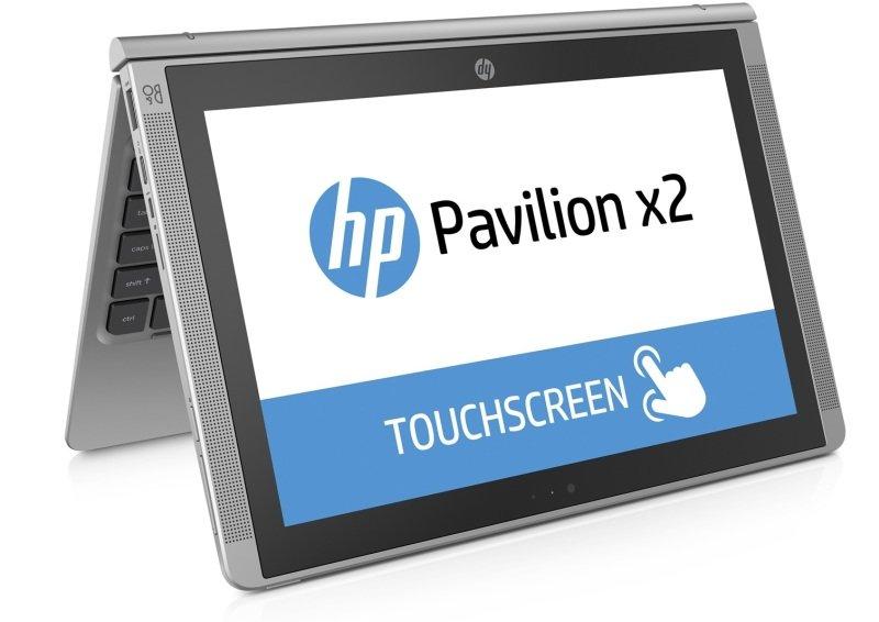 "Image of HP Pavilion x2 10-n107na Convertible Laptop, Intel Atom Z8300 1.44GHz, 2GB RAM, 1TB HDD, 32GB eMMC, 10.1"" IPS Touch, No-DVD, Intel HD, Webcam, Bluetooth, Windows 10 Home 64bit"
