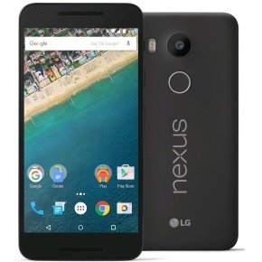 LG Nexus 5X 32GB Phone - Carbon Black