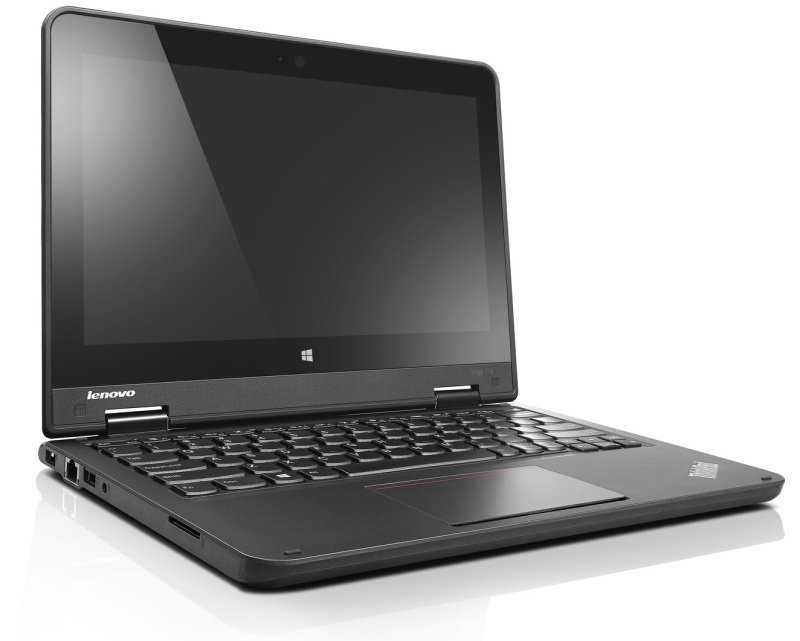 "Image of Lenovo ThinkPad Yoga 11e Convertible Laptop, Intel Celeron N2940 1.83GHz, 4GB RAM, 500GB HDD, 11.6"" Touch, No-DVD, Intel HD, WIFI, Webcam, Bluetooth, Windows 10 Pro 64-bit"