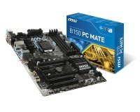MSI B150 PC MATE Socket LGA 1151 VGA DVI-D HDMI  7.1-Channel HD Audio ATX Motherboard