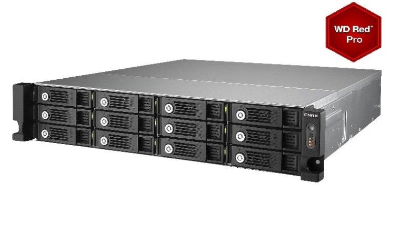 QNAP TS-1253U 72TB (12 x 6TB WD Red Pro) 12 Bay 2U Rackmount NAS
