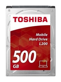 Toshiba L200 500GB 2.5'' SATA Mobile Hard Drive