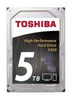 "Toshiba X300 5TB 3.5"" SATA Extreme-Performance Hard Drive"