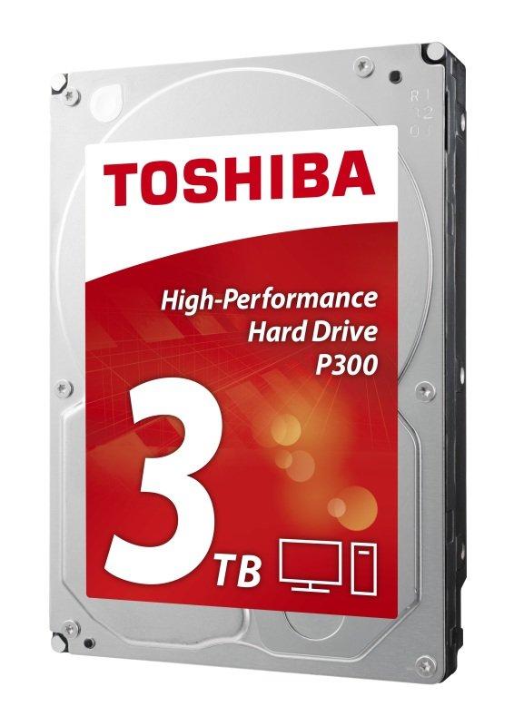 Toshiba P300 3TB 3.5'' SATA High-Performance Hard Drive (OEM)