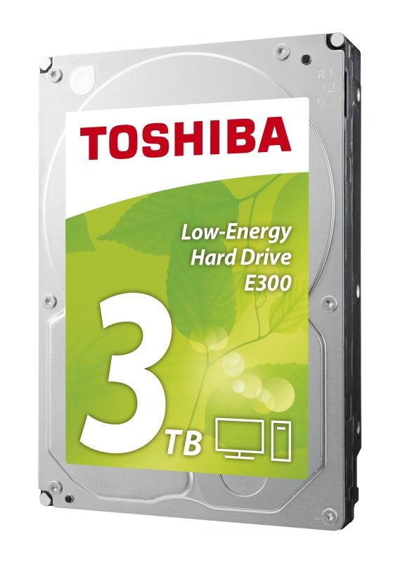 Toshiba E300 3TB 3.5'' SATA Energy Efficiency Hard Drive (OEM)
