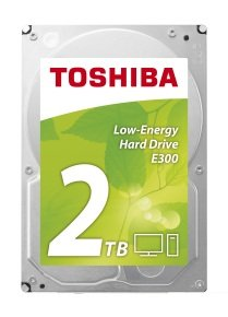 "Toshiba E300 2TB 3.5"" SATA Low Energy Desktop Hard Drive"