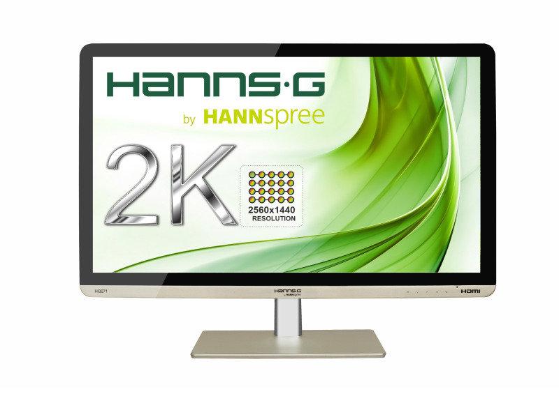 "HannsG HQ271HPG 27"" 2K WQHD IPS Monitor"