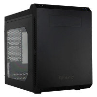 Antec P50 mATX Dual Chamber Windowed Black Cube Case