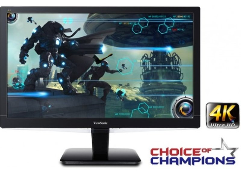 "ViewSonic VX2475SMHL 23.6"" 4K Ultra HD Monitor"