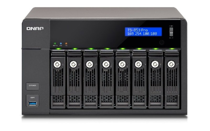 QNAP TS-853 PRO-8G 16TB 8 Bay NAS