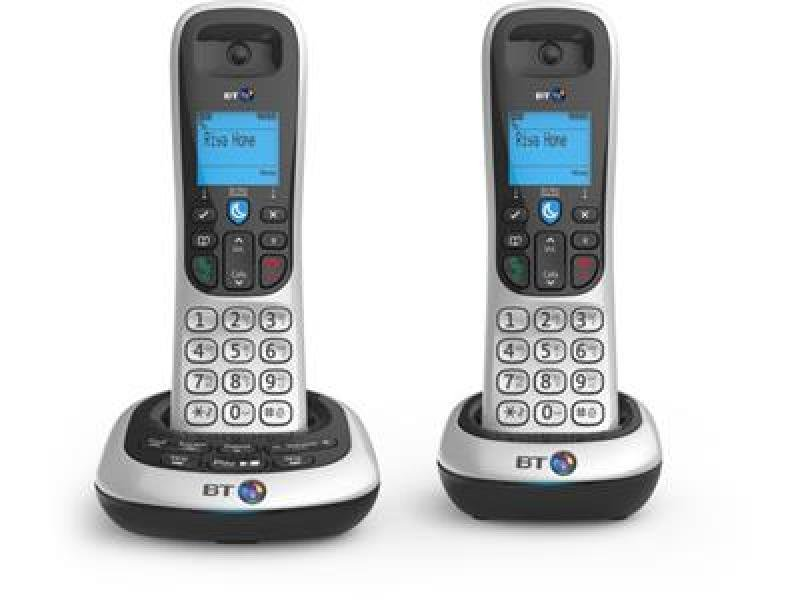 Image of Bt 2600 Twin Dect Phone With Tam