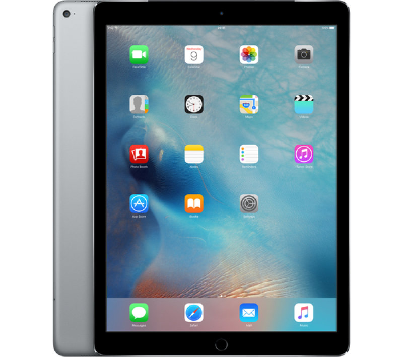 "Image of iPad Pro Wi-Fi 32GB Space Grey - A9X CPU chip - 32GB Flash + Wifi - 12.9"" LED Multitouch Display - Bluetooth + 2 Cameras - Apple iOS 9"