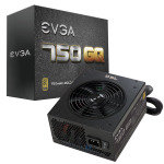EVGA 750 GQ Modular Gold Rated 80+ Power Supply