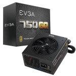 EVGA 750 GQ Semi Modular Gold Rated 80+ Power Supply