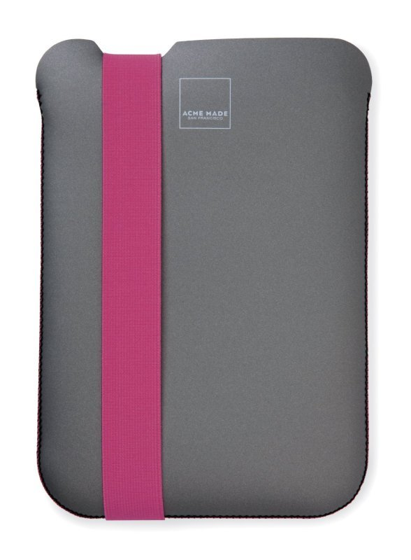 "Image of Acme W-AM36629-PWW Skinny Sleeve for 8"" Tablets - Grey"