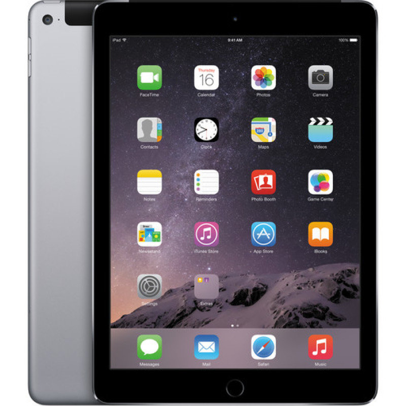 "Image of iPad Pro Wi-Fi Cell 128GB Space Grey (Apple Sim) - A9X CPU chip - 128GB Flash + Wifi - 12.9"" LED Multitouch Display - Bluetooth + 2 Cameras - Apple iOS 9"