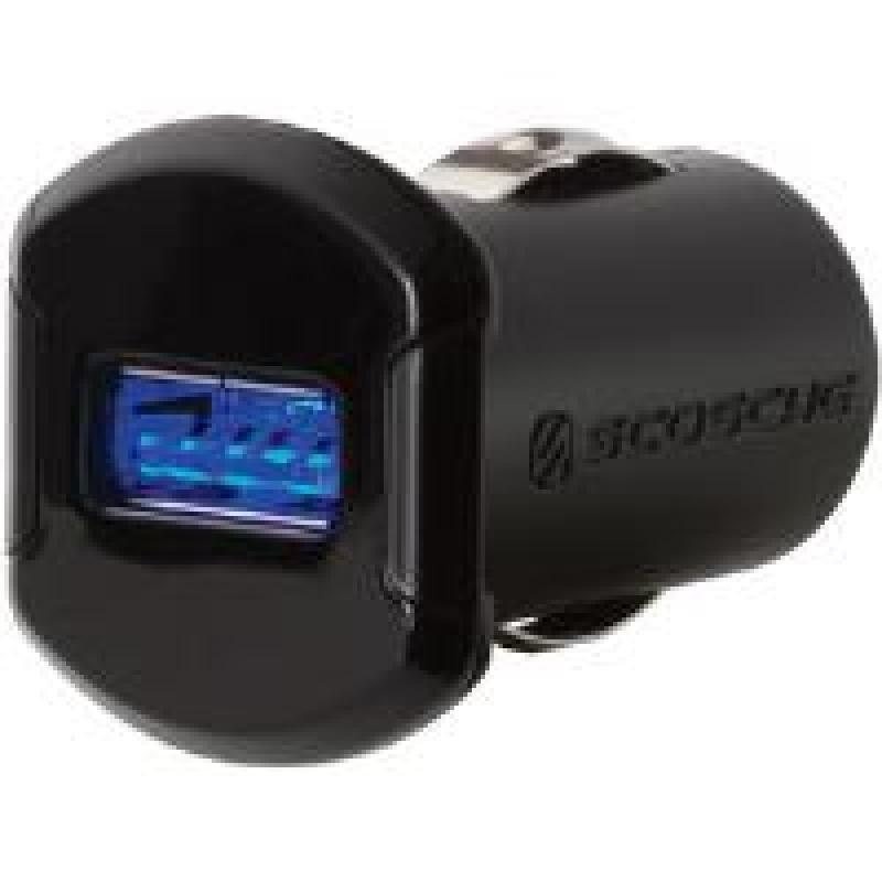 Scosche reVOLT 12W USB Car Charger with Illuminated USB
