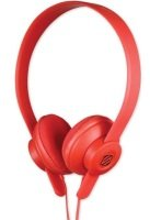 Scosche Lobedope On Ear Headphones - Red