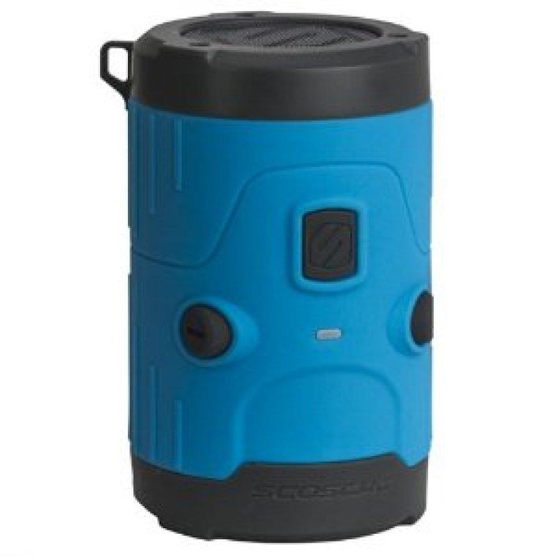Image of Scosche Boombottle H20 Waterproof Bluetooth Wireless Speaker - Blue
