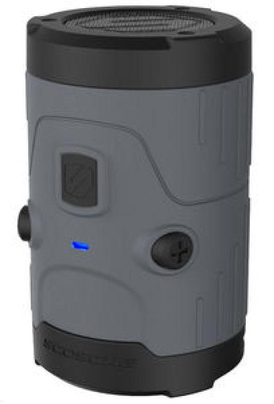 Image of Scosche Boombottle H20 Waterproof Bluetooth Wireless Speaker - Grey