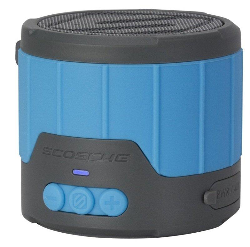 Image of Scosche Boombottle Mini Weatherproof Wireless Blueteooth Spaker - Blue