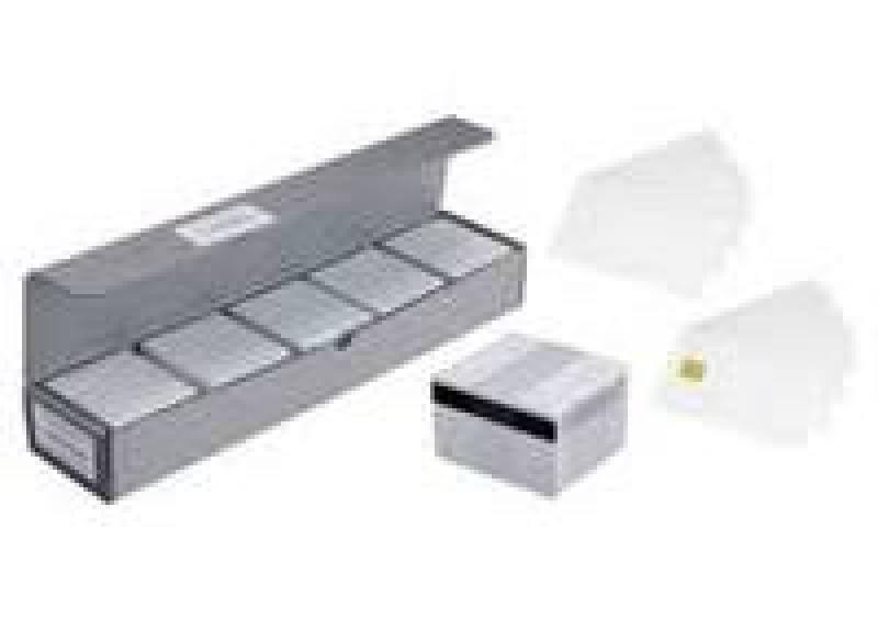 Plastic Cards Blank White 500 PP 30mil