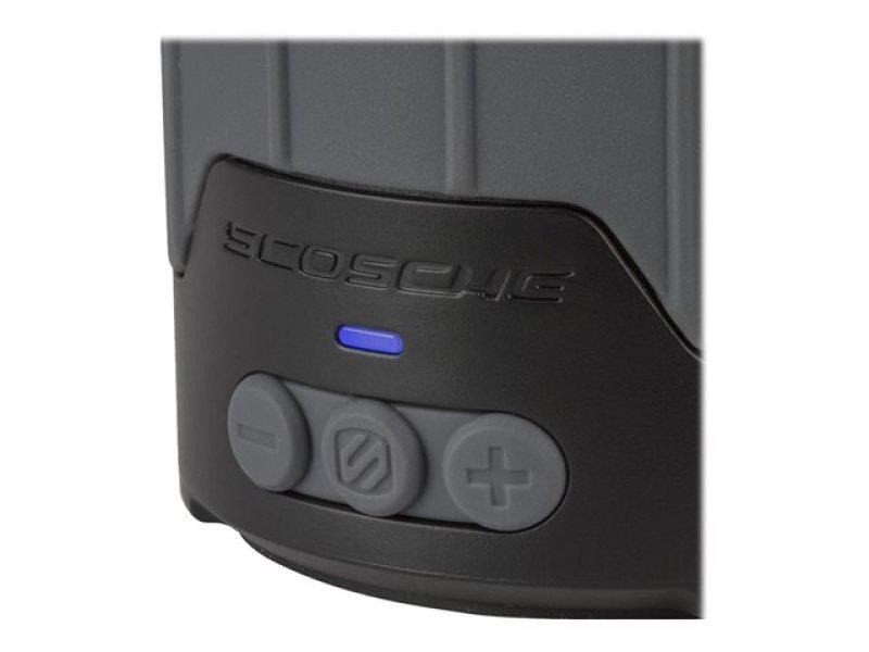 Scosche Boombottle Mini Weatherproof Wireless Bluetooth Speaker - Grey