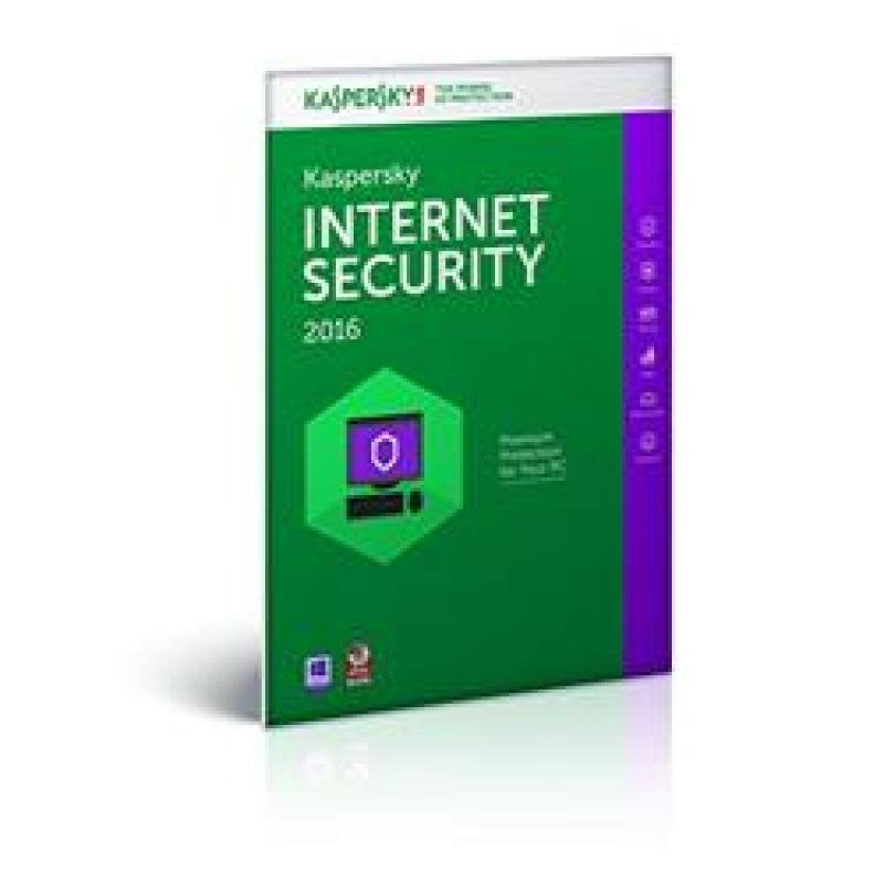 Kaspersky Internet Security Multi Device 2016 5 User 1 Year Dvd