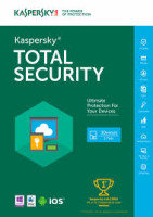 Kaspersky Total Security 2016 3 Device 1 Year FFP packaging