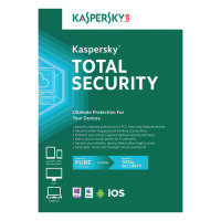 Kaspersky Total Security Multi-device 2016 1 Year 5 Devices DVD