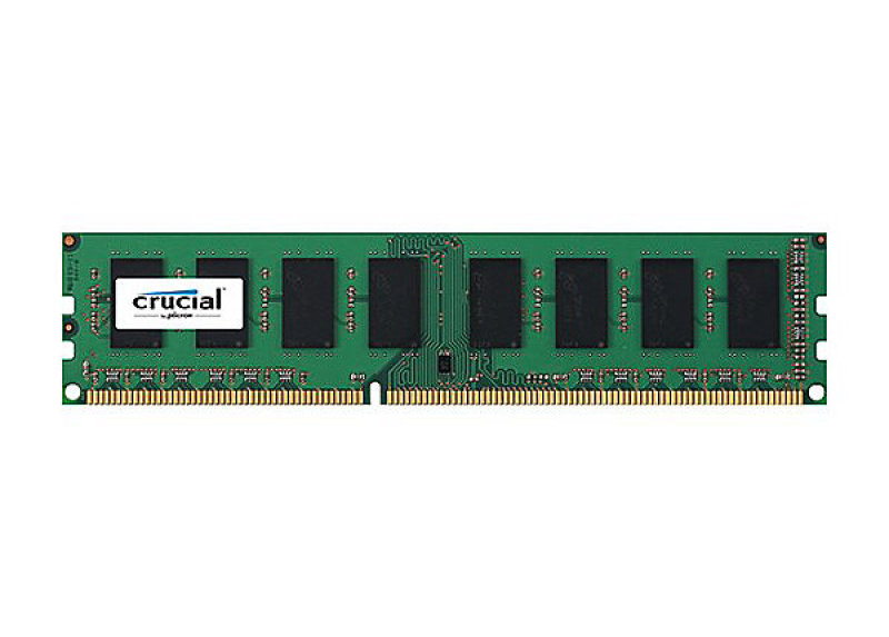 Crucial 2GB DDR3 PC3-12800 Unbuffered NON-ECC 1.5V Memory