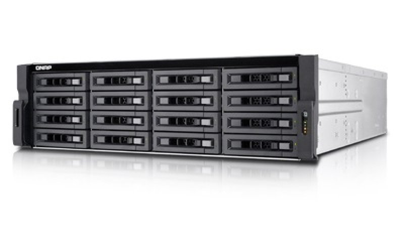 QNAP TVS-EC1680U-SAS-RP-8GE 16 Bay 3U Rack Enclosure