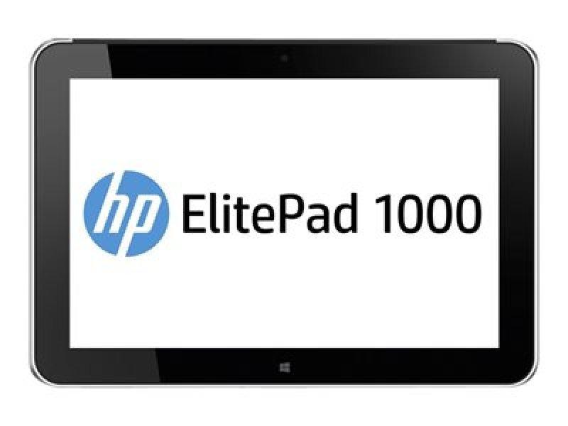 HP Elitepad 1000 G2 Intel Atom Z3795 (1.6GHz, up to 2.39 GHz with Intel Burst Technology, 2MB cache, 4 cores), Windows 8.1 Pro 64, 4GB RAM, 128GB SSD, 10.1 diagonal UWVA WUXGA (1920 x 1200) capacitive multi-touch 8MP + 2.1MP camera Silver