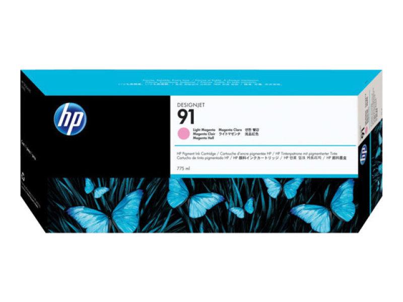 HP 91 Light Magenta Original Ink Cartridge - Standard Yield775ml - C9471A