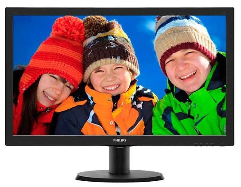 """Philips 243V5LHSB/00 23.6""""  HDMI DVI LED Monitor"""