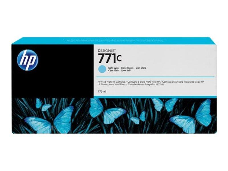 HP 711CLight Cyan OriginalInk Cartridge - Standard Yield775ml - B6Y12A