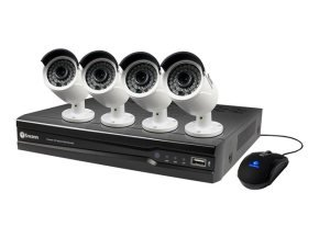 Swann NVR8-7300 8 Channel 4 Camera 3MP CCTV Kit Fitted With 2TB HardDrive