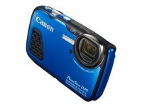 Powershot D30 -blue - 20mp/ Water Resistant Camera In
