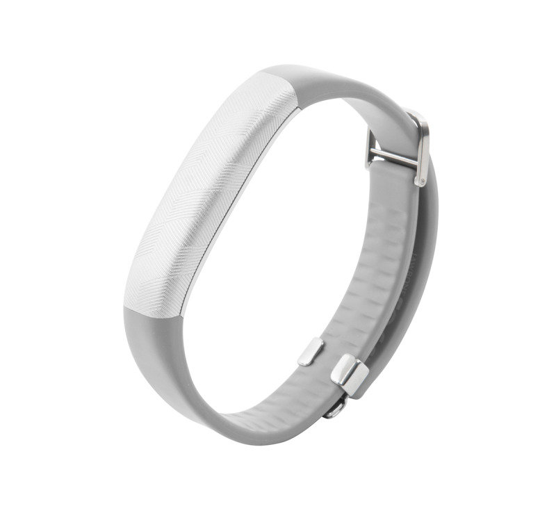 Image of 847912021071 Jawbone UP2 Activity Tracker - Silver - Three single color LEDs - Rechargeable 38 mAh Battery - Bluetooth 4.0 BLE - Tri-axis accelerometer