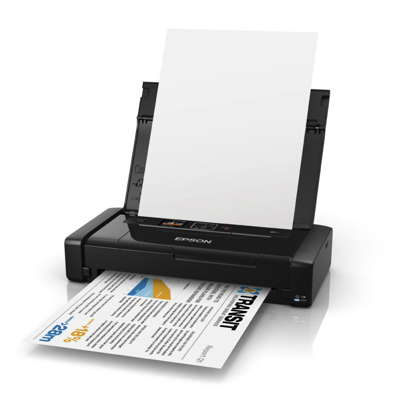 Epson WorkForce WF100W Wireless Portable Colour Inkjet Printer