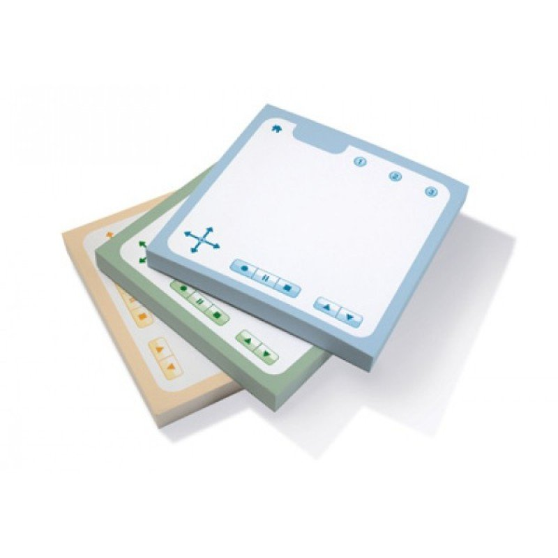 Image of Livescribe Sticky Notes Assorted Ana-00043 (75 Sheets) - (pk6)