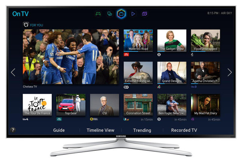 Samsung Series 6 H6400 40-inch Widescreen Full HD 1080p 3D LED Smart TV