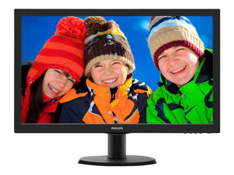 "Philips 243V5LHSB/00 23.6""  HDMI DVI LED Monitor"