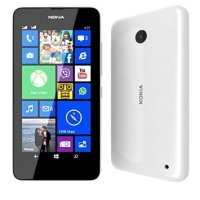 EXDISPLAY A00018424 Microsoft Lumia 630 - White - 4.5'' LCD Multipoint-Touch Screen - Snapdragon 400 (1.2 GHz) - 5 MP Camera - 8 GB - Expandable storage - Windows Phone 8.1 - Upgradable to Windows 10